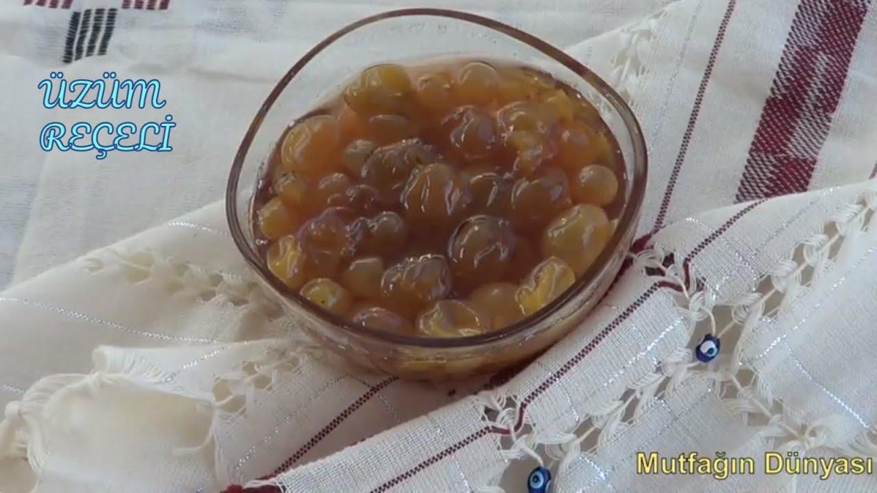 Üzüm reçeli tarifi