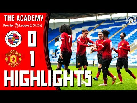 U23 Highlights | Reading 0-1 Manchester United | The Academy | Premier League 2