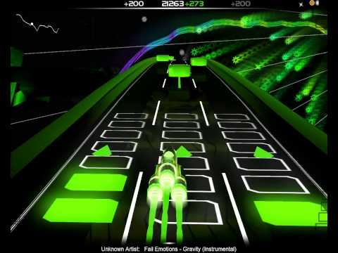 Audiosurf Fail Emotions – Gravity Instrumental
