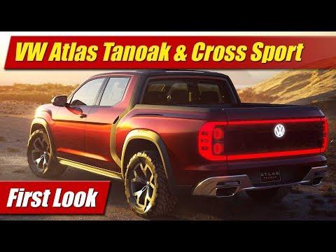 Volkswagen Atlas Tanoak and Cross Sport: First Look