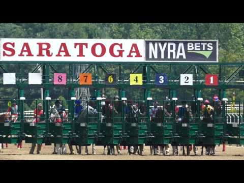 Saratoga Racetrack first Race 2017