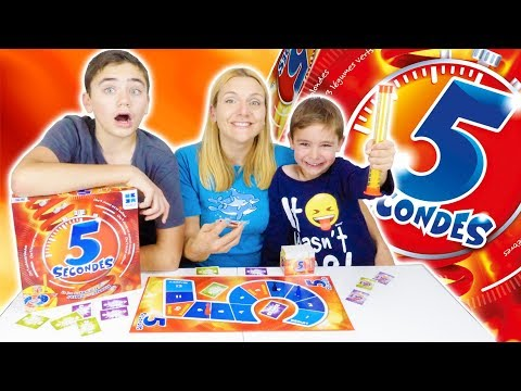 CHALLENGE 5 SECONDS - Who will be the fastest? - Board game