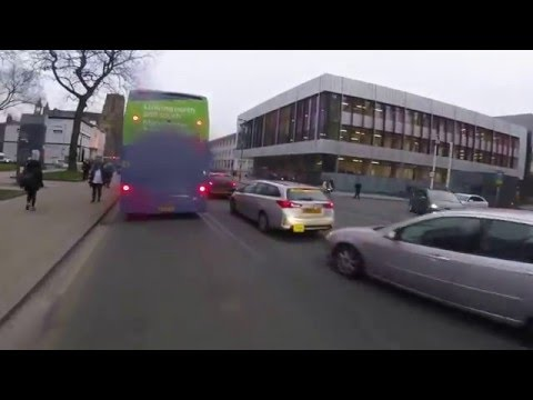 Dangerous Driving by First Bus, Oxford Road, Manchester