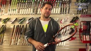 Prince Tour 100T Tennis Racket Review by Stringers' World