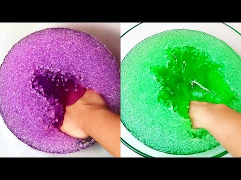 download Crunchy icebergs slime - satisfying slime ASMR video compilation