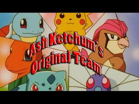 Pokemon Showdown: Ash ... Original Pokemon Ash