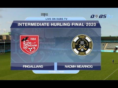 2020 Dublin Intermediate Hurling Final- Naomh Mearnóg v Fingallians