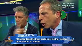 ¡CARA A CARA entre Cristóbal Soria y Rafa Guerrero tras la POLÉMICA en el Camp Nou con el 1-0