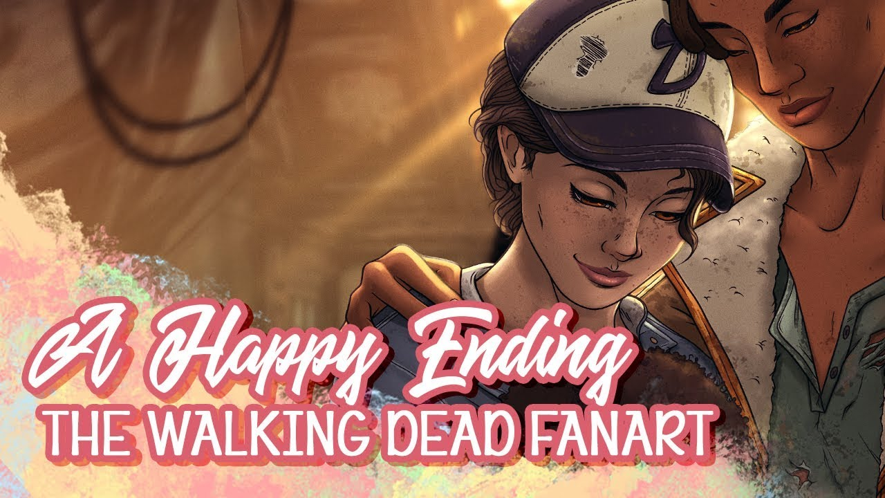 Clementine S Happy Ending Telltale Twd Fanart Drawing A The Walking Dead Final Season Tribute
