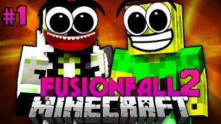 Das NEUE ABENTEUER!! - Minecraft Fusionfall 2 #001 [Deutsch/HD]
