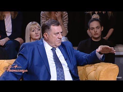 CIRILICA - Milorad Dodik - Republika Srpska ne pripada Sarajevu! - (TV Happy 22.04.2019)