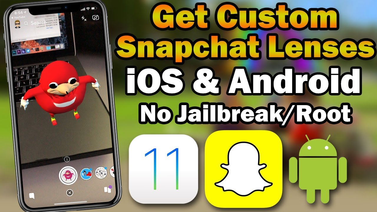 How to Get Custom Snapchat Lenses on iOS & Android (No