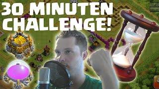 [facecam] DIE 30 MINUTEN CHALLENGE! || CLASH OF CLANS || Let's Play CoC [Deutsch/German HD]