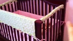 No Sew Homemade Crib Rail Teething Guard DIY