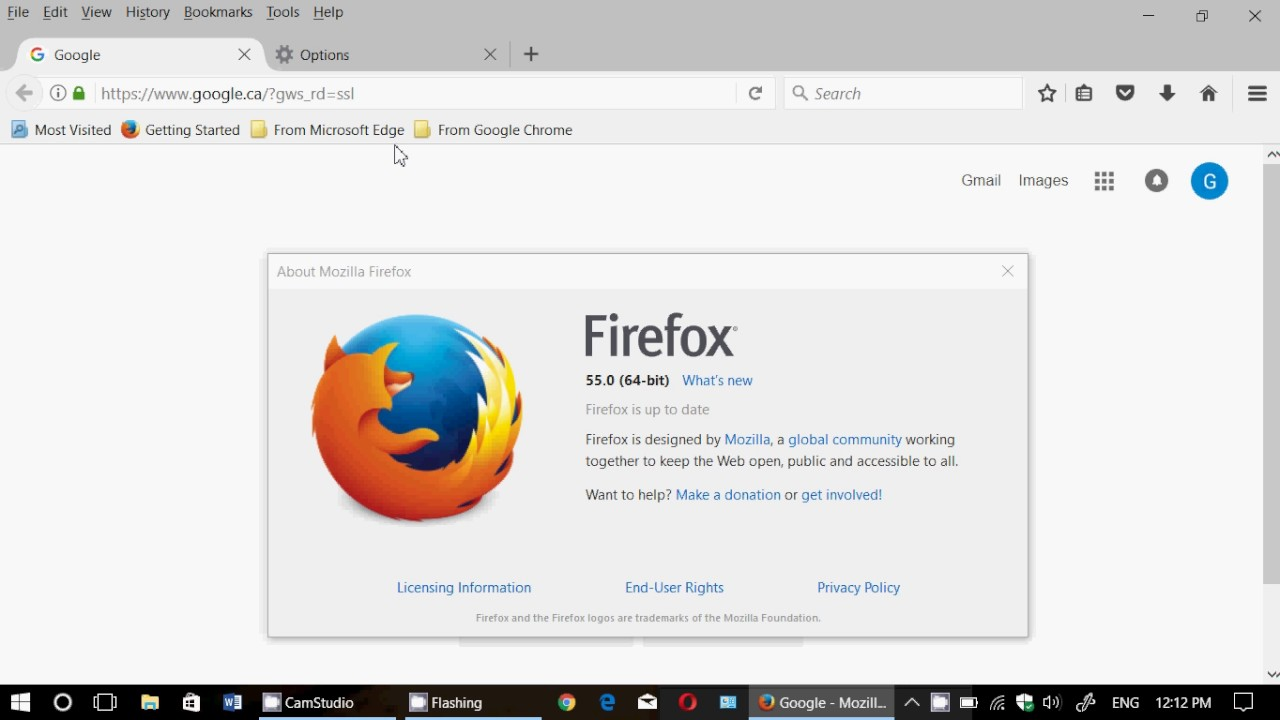 Quick look at New Firefox 55 Web Browser is now available August 8th 2017