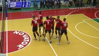Волейбол. Новатор - Барком-Кажани-2