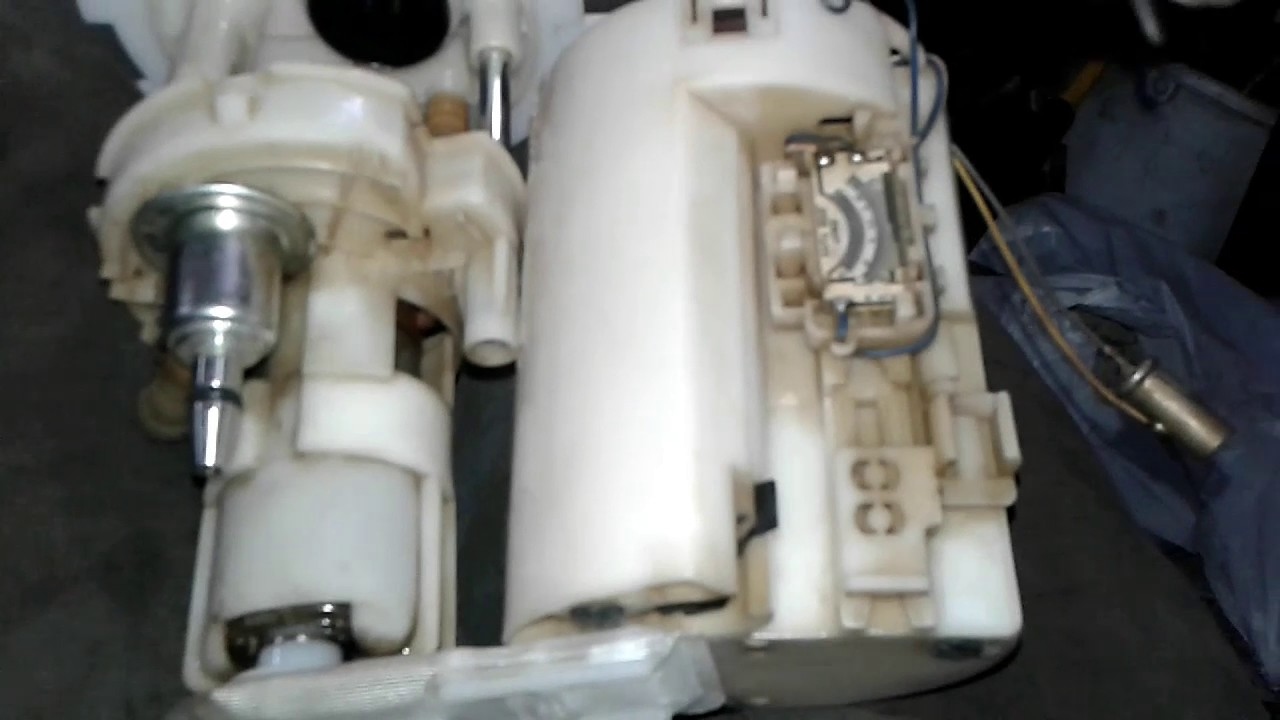 замена фильтра бензонасоса на chevrolet ланос