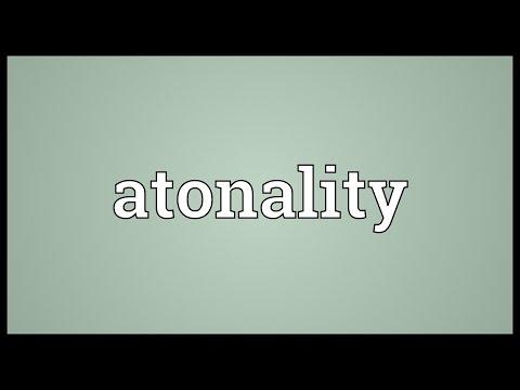 Header of atonality