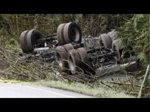 Tanker spill on Highway 58