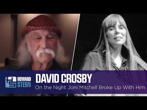David Crosby on Dating Joni Mitchell and the Night She Broke Up With Him