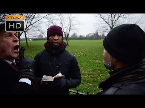 Puppet Master! Mansur & Hashim vs Christian | Speakers Corner | Hyde park