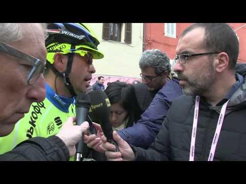 Contador ambicioso a la salida de la 5a etapa de la Tirreno - Adriatico 2015