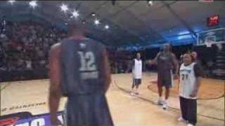 Shaq ve Lebron Jamesin Dansı