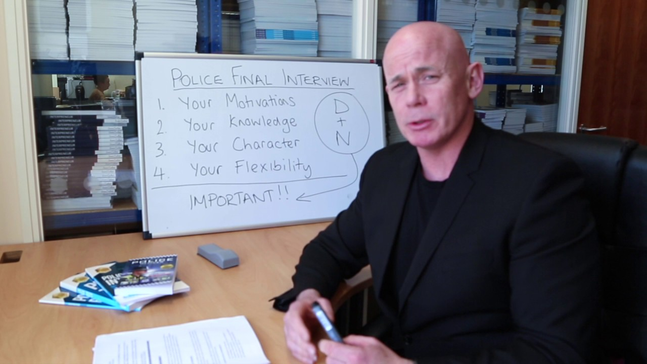 Police FINAL INTERVIEW Preparation - How to Pass - YouTube
