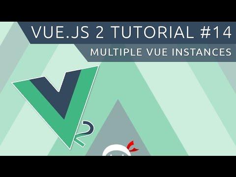 Vue JS 2 Tutorial #14 - Multiple Vue Instances
