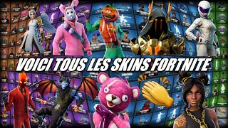 FORTNITE: VOICI ALL FORTNITE SKINS, price, rarity and getting! ALL FORTNITE SKINS