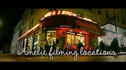 Paris filming locations from Amelie the movie