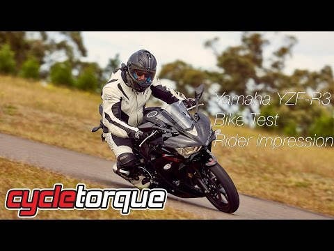 2015 Yamaha YZF-R3 First Ride Review + Australian Launch