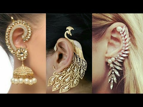 Stylish & Classy Ear Cuff  Earings For Girls 2017-18