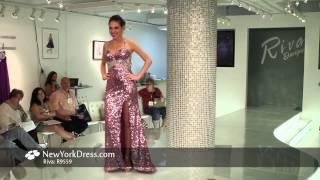 Riva R9559 Dress - NewYorkDress.com