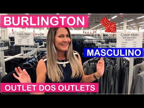 BURLINGTON Roupas MASCULINA em ORLANDO nos Estados Unidos!