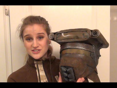 how to part 2 diy leia boushh bounty hunter costume tutorial youtube