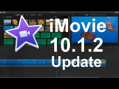 iMovie 10.1.2 Update - New Features