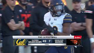 Cal Football: Bears dominate Oregon State, 49-7.