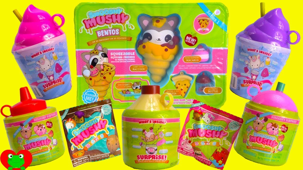 Smooshy Mushy Creamery Series 3 : Smooshy Mushy Surprises - YouTube