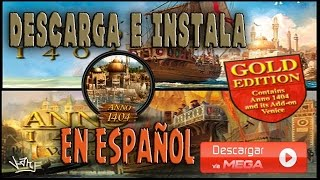 ANNO 1404 GOLD EDITION EN ESPAÑOL POR MEGA