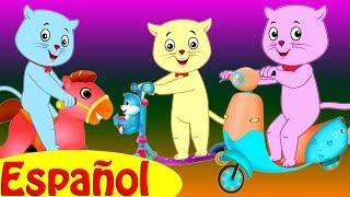 Tres Gatitos Fueron al Parque – Canciones Infantiles por Cutians™ | ChuChu TV Canciones de Niños thumbnail