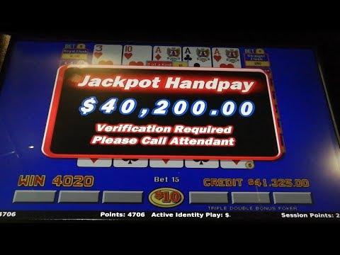 EP 2. HANDPAY & MISSES!!!! VEGAS Video Poker High Limit Trip June/2019