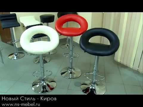 Как выбрать барные стулья