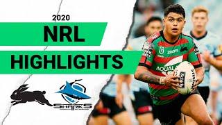 Rabbitohs v Sharks Match Highlights | Round 1 NRL 2020