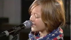 Marco Kappel - Sieger von DSDS-Kids - singt Nothing Else Matters live (Regio TV Schwaben)