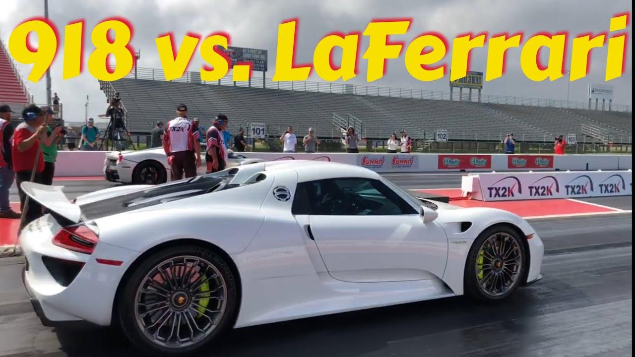 Porsche 918 Spyder Teaches Laferrari How To Drag Race Carscoops