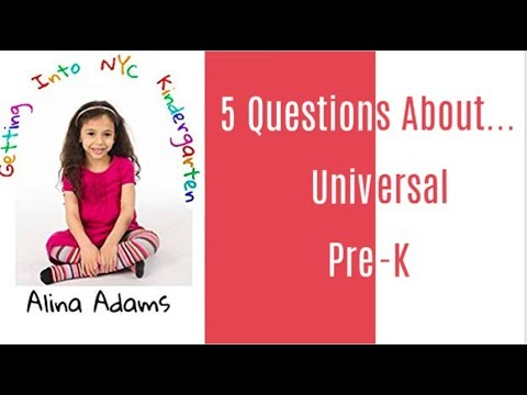 Universal Pre-K within the U . s . States