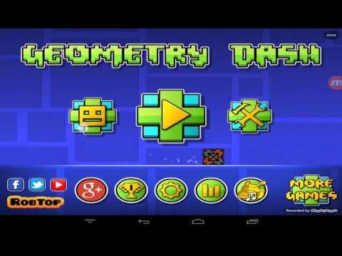 Играем в игру геометрии деш