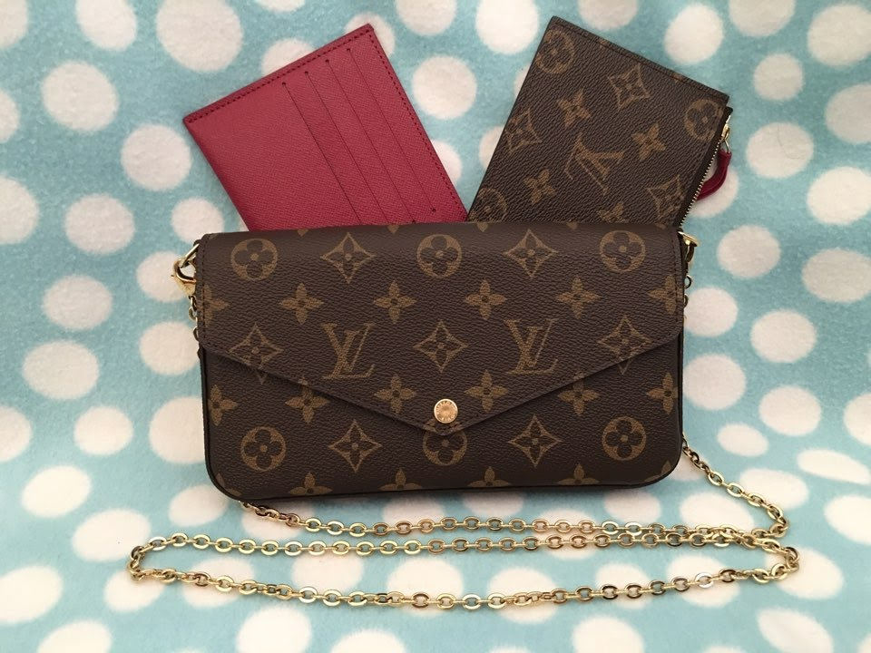 Unboxing my Louis Vuitton Pochette Felicie - YouTube f8815572456fc