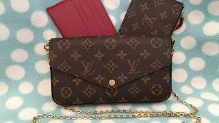 Unboxing my Louis Vuitton Pochette Felicie